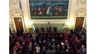 Lifschitz inaugura en la Cámara de Diputados el período de sesiones ordinarias de la Legislatura