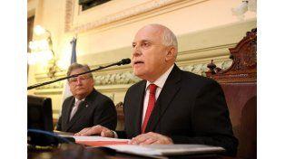 El gobernador inaugura este domingo las sesiones ordinarias de la legislatura