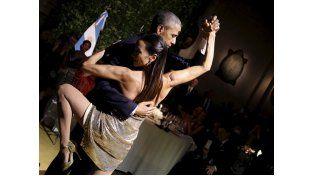 Barack Obama bailó tango junto a Mora Godoy durante su reciente visita a Argentina.