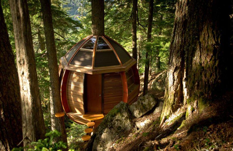 10 increíbles casas en los árboles. ¿En cuál vivirías?