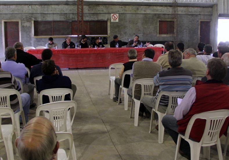 Jatón se reunió con productores del norte del departamento