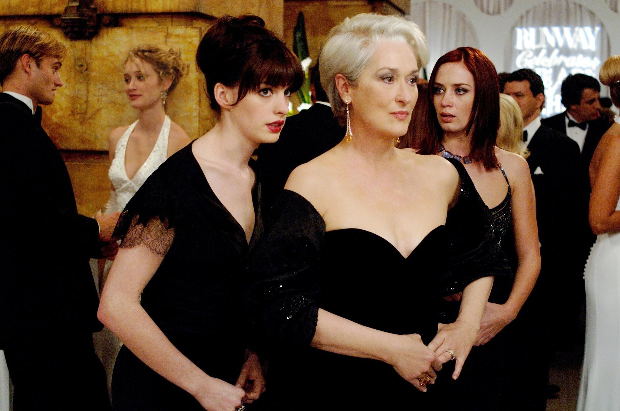 Mery Streep y su mala relación con Anne Hathaway fuera de cámara