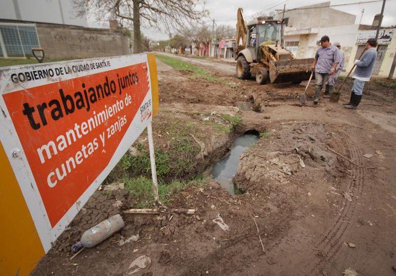 Licitan trabajos para el mantenimiento de desagües pluviales