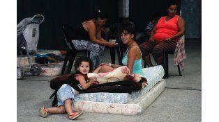 Aún quedan 2.433 evacuados en territorio santafesino