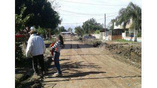 Alto Verde: encontraron restos del Cementerio en una calle