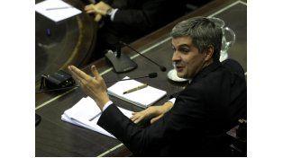 Marcos Peña vivió un tenso cruce con el kirchnerismo en la Cámara de Diputados.