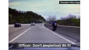 Todo Estados Unidos habla del policía que salvó a un suicida