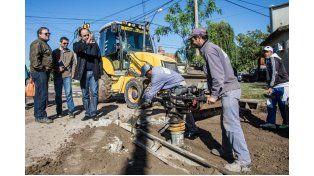 El Municipio continúa trabajando en las zonas más críticas de la ciudad