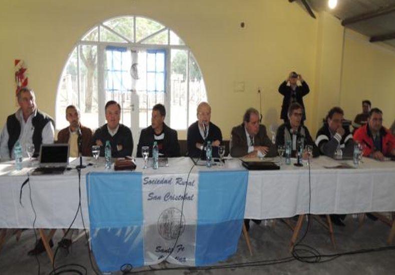 Masiva participación a la convocatoria efectuada con motivo de la emergencia hídrica