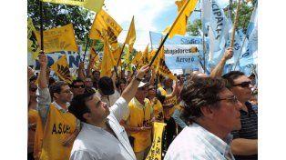 Movilizados. El municipio de la localidad de Las Rosas será el escenario de la manifestación / Foto: Gentileza Festram