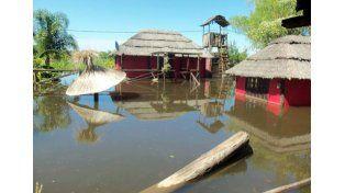 Arroyo Leyes. Una cabaña de la zona