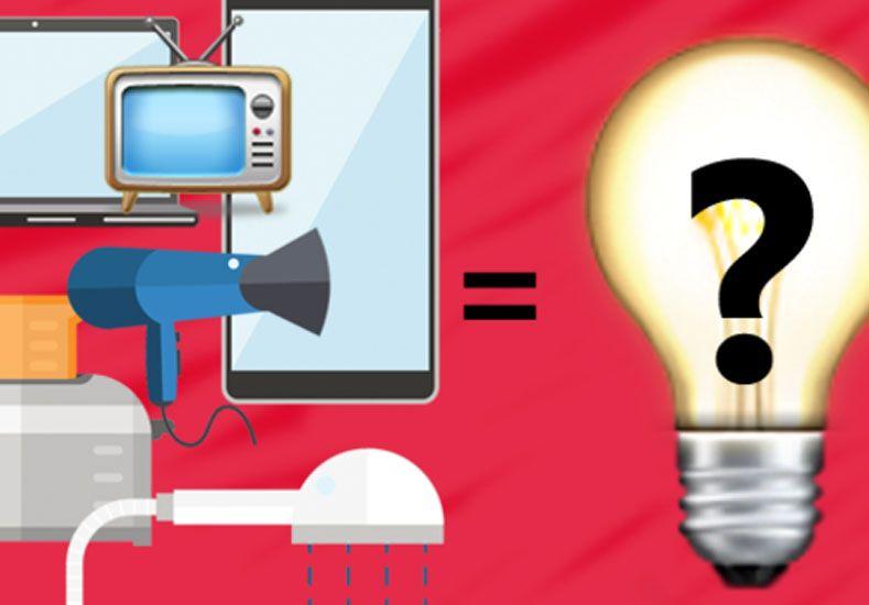 Siete aparatos cuyo consumo eléctrico podría sorprenderte