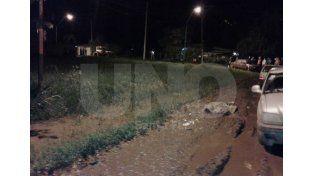 El homicidio ocurrido en el barrio 12 de Septiembre de la ciudad de Santo Tomé. La víctima del crimen fue Javier Santa Cruz de 43 años.