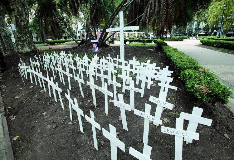En la provincia casi se duplicaron los asesinatos de 2008 a 2015.