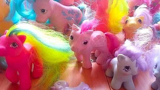 Un producto muy reconocible para cualquiera que haya nacido antes de 1990 son los Ponys de Hasbro Un producto muy reconocible para cualquiera que haya nacido antes de 1990 son los Ponys de Hasbro