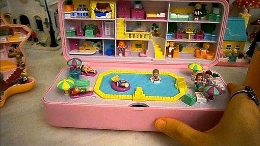 No todo son juguetes electrónicos. También cosecharon gran éxito en su día las Polly Pocket No todo son juguetes electrónicos. También cosecharon gran éxito en su día las Polly Pocket
