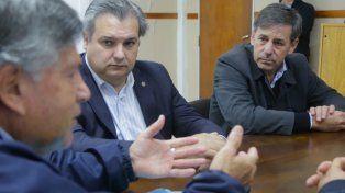 El ministro Farías visitó al intendente de Rincón luego de los hechos de violencia