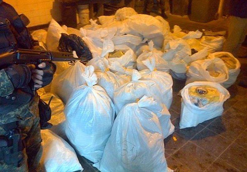 Quemaron 1100 kilos de marihuana y cocaína equivalente a 60 millones de pesos