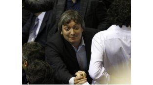 El fiscal cruzó a Máximo Kirchner.