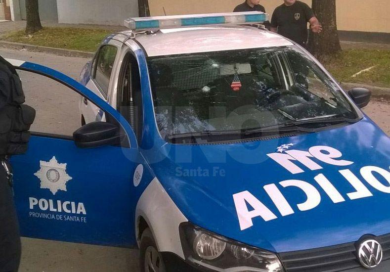 Santo Tomé: ladrones resistieron un chequeo y balearon un móvil