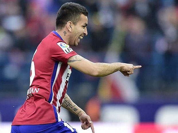 El rosarino Ángel Correa convirtió el único gol de Atlético Madrid