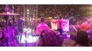 El reencuentro de Loly con Morena Rial en el escenario de Ulises Bueno