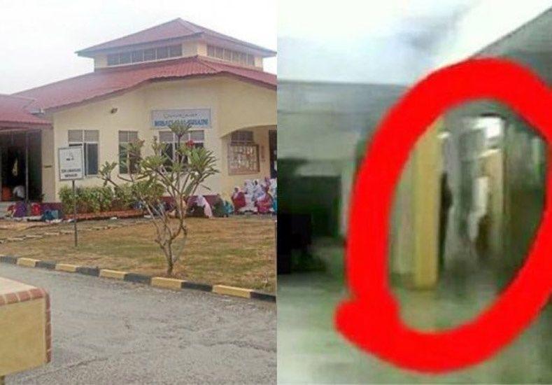 Cerraron un colegio por tres días por la supuesta aparición de un fantasma