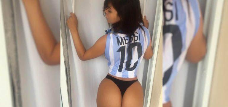 Modelo brasileña acusó que fue bloqueada por Lionel Messi en Instagram