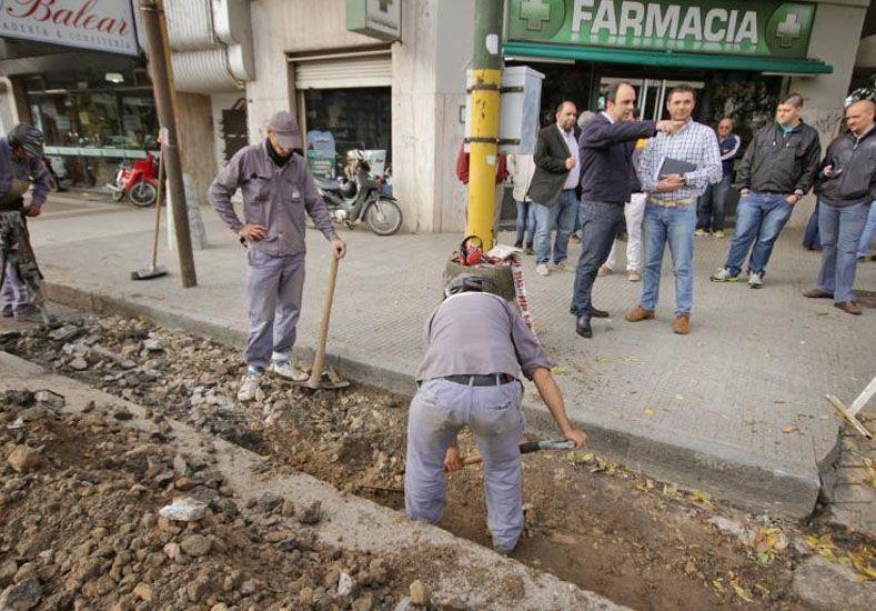 Trabajan en un plan de reconstrucción para las calles de la ciudad