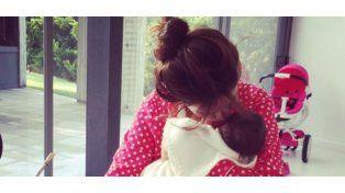 La foto de madre más tierna de Zaira Nara