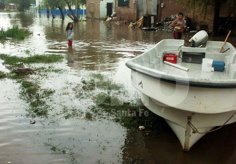 Accesibilidad. Barrios y zonas de la región quedaron intransitables para las ambulancias / Foto: Juan Manuel Baialardo - Uno Santa Fe