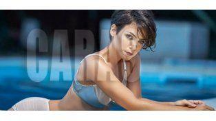 Agustina Cherri y una producción de fotos al desnudo