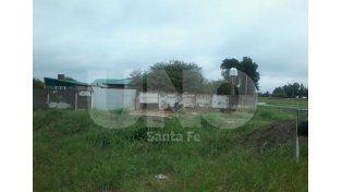 La vivienda donde ocurrió el crimen.