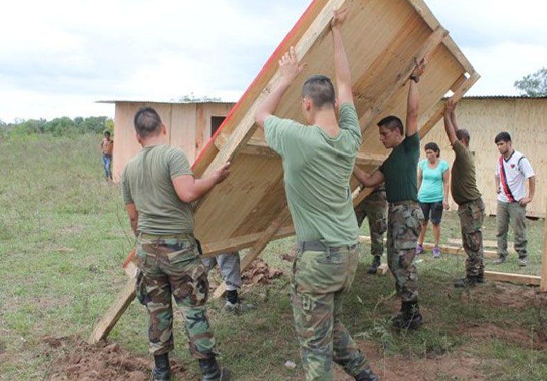Emergencia hídrica: continúan brindando atención a los vecinos afectados