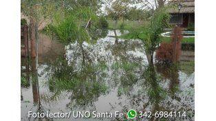 Arroyo Leyes: el agua no se va