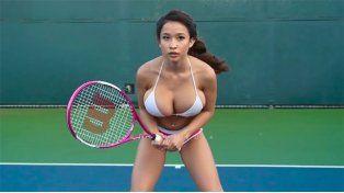 La musa del tenis está causando una revolución en las redes