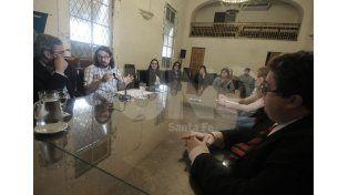 A la vista de la sociedad. Los jueces destacaron la importancia de la oralidad de los juicios y audiencias. Foto: Juan Baialardo / UNO Santa Fe