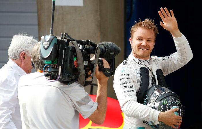 El alemán Nico Rosberg se impuso con facilidad en el Gran Premio de China.