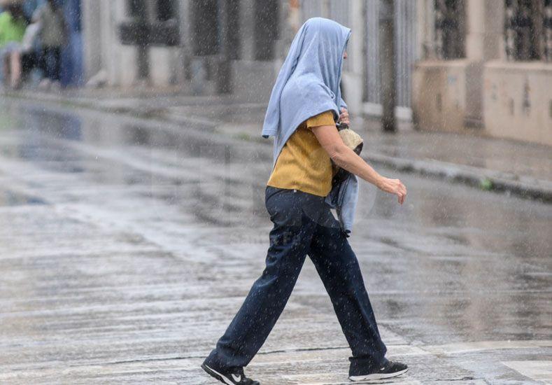 Nuevo alerta por tormentas intensas para centro y sur provincial