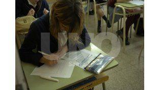 Un proceso. En la escuela secundaria se insta a los educadores a no basarse solo en la prueba final / Foto: Archivo Uno Santa Fe
