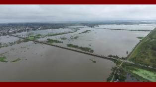 ¡Santa Fe estamos con Vos!: La crecida vista desde un dron
