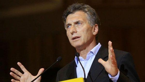 Macri: Empezamos a ver la reducción de la inflación.