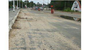 Rincón: habilitan estacionamientos en la entrada a la ciudad por la intransitabilidad de las calles