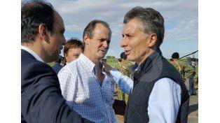 Macri llegó para iniciar la recorrida en las zonas inundadas de Santa Fe y Entre Ríos