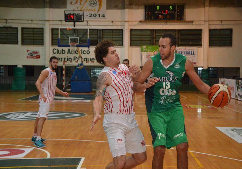 Nicolás Lauría fue la gran figura de Barrio Parque en el primer punto de la serie por los cuartos de final / Foto: Gentileza Barrio Parque