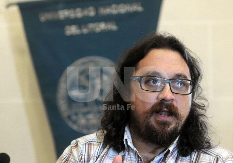 Máximo Sozzo. Encabeza el equipo que estudia la implementación de la reforma. UNO de Santa Fe/Juan M. Baialardo