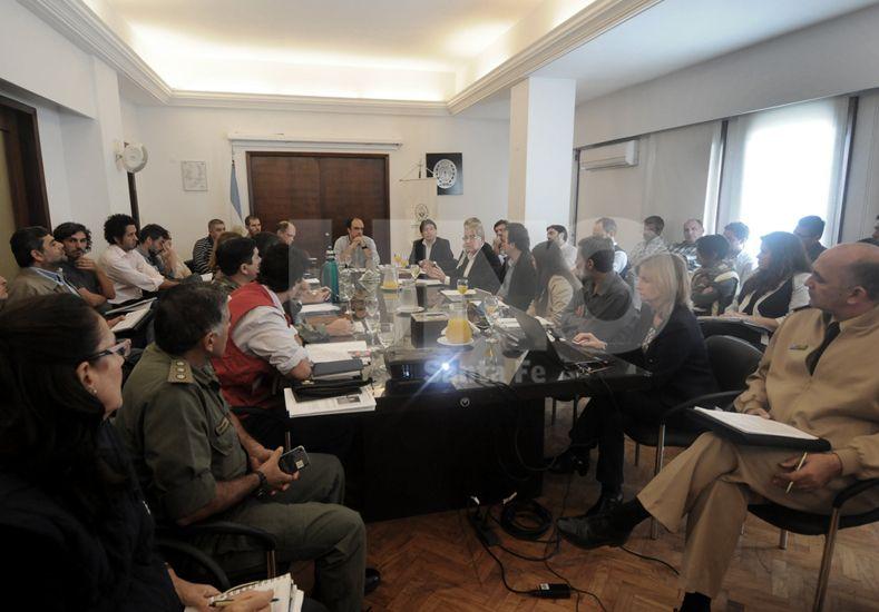 Emergencia hídrica: se reunió el Comité de Gestión de Riesgos de la ciudad
