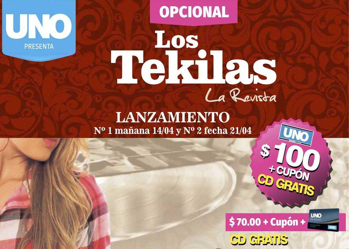 Este jueves pedí la revista y el CD de Los Tekilas