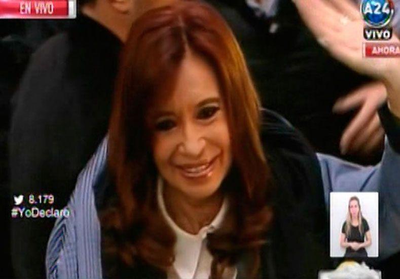 Así es el escrito que presentó Cristina en Comodoro Py ante Bonadío