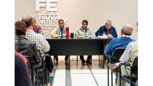 Reunión. Se llevó a cabo en Santa Fe. Decidieron seguir con las negociaciones en el marco conciliatorio obligatorio / Foto: Gentileza Festram